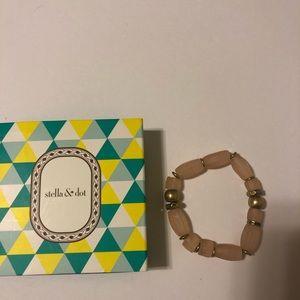 Stella & Dot Brix Bracelet - Blush